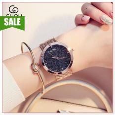 Đồng hồ nữ GUOU 8178 thiết kế đơn giản, sang trọng, phong cách