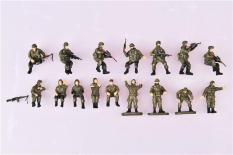 Mô hình quân lính tỉ lệ (bộ 16 người) 1:72