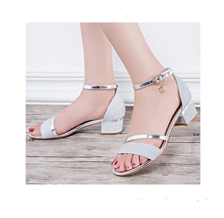 FS08T- Giày sandal nữ quai ngang