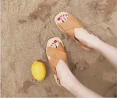 Dép sandal nữ dây chéo bản to Sunnie Shoes