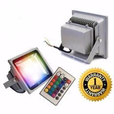 Đèn pha led 16 màu trang trí Spotlight 30w – bảo hành 12 tháng(có điều khiển)
