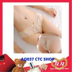 Quần Lót Nữ Ren Sexy, Nửa Mông Gợi Cảm – AQ037 (CTC SHOP)