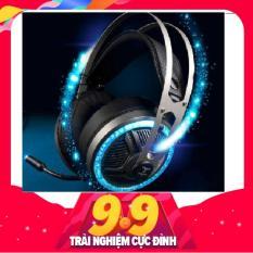 Tai nghe chụp tai GOLDTECH LD2 chuyên gaming hổ trợ mic jack 3.5 cho máy tính và điện thoại