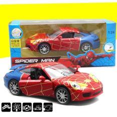 Xe mô hình sắt Spider man tỉ lệ 1:24