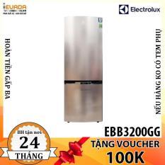 (BAO VẬN CHUYỂN + LẮP ĐẶT) Tủ Lạnh Electrolux EBB3200GG – 320 Lít – CHỈ BÁN HỒ CHÍ MINH