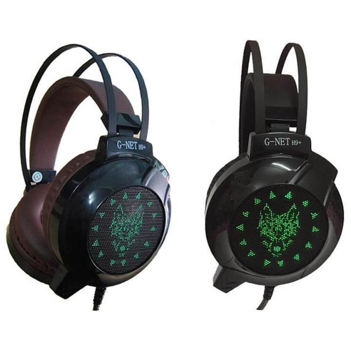 www.EMVINA.com - Tai nghe máy tính G-NET H9+, RUNG theo bass, LED RGB 7 màu, Tai nghe chụp tai có...