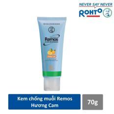 Kem chống muỗi Rohto Metholatum Remos Hương Cam 70g