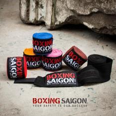 Băng quấn tay Boxing Saigon 4.5m ( Hồng )
