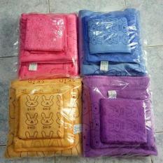 Bộ 3 khăn tắm 1m4, 77cm, 50cm
