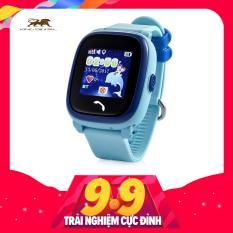 Đồng hồ định vị GPS trẻ em Wonlex GW400S (Xanh) – Chống nước IP67