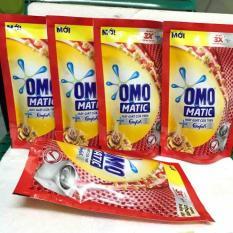 Combo 5 túi nước giặt Omo Matic (Máy giặt cửa trên) (150ml)