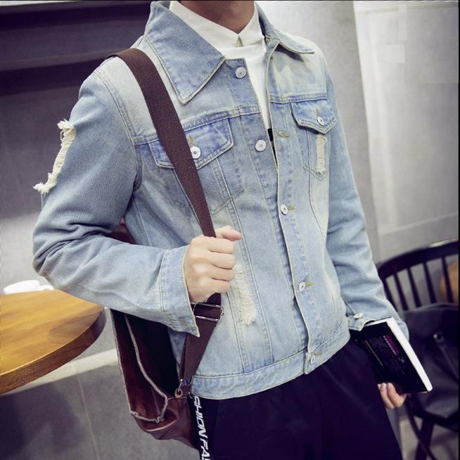 Áo Khoác Jeans Nam Phong Cách M51