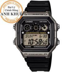 Đồng hồ nam dây nhựa Casio Anh Khuê AE-1300WH-8AVDF