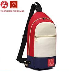 Túi Messenger Thời Trang Glado Màu Trắng Đỏ – DCG028