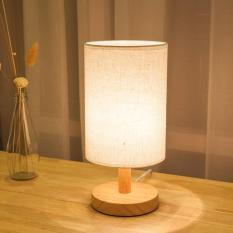 Đèn ngủ để bàn gỗ phong cách Mỹ cao cấp DN19
