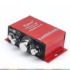 Bộ khuếch đại âm thanh mini 12V cho xe hơi, loa 2.1 Kinter MA-170 – Kinter MA-170 (đỏ)