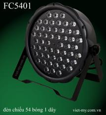 Đèn chiếu 54 bóng 1 dây 7 màu FC5401M