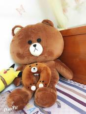 Gấu Bông Brown cao 1m5 – Hàng Cao cấp