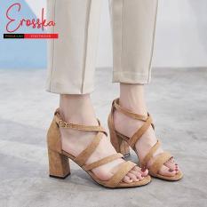 Giày Cao Gót Đế Vuông Erosska – ER013