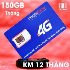 SIM 4G Mobifone DATA Khủng Tặng 150GB/Tháng Gói MDT150A