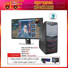 Máy tính để bàn Detek – Intel E8500 RAM 2Gb HDD 80Gb Model : V0014LCD17