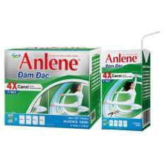 Bộ 3 Lốc sữa Anlene 4X đậm đặc pha sẵn (Lốc 4 hộp x125ml) hương vanial/socola
