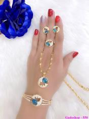 Bộ Trang Sức Nữ Xi Vàng 18K Gadoshop_VB4190607
