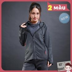 Áo khoác dài tay thể thao nữ N6809 LieXing – Cửa hàng phân phối KIT Sport (Women Coats, đồ tập quần áo gym, thể dục,thể hình, yoga)