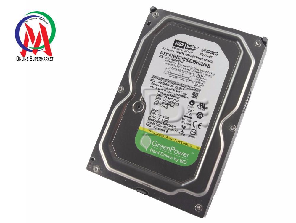 Đánh giá Ổ CỨNG HDD PC 250GB WD Green BH 24 THÁNG Tại IT-Onmart