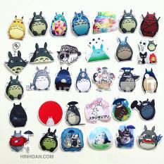 Bộ Sticker Chủ Đề Totoro Hoạt Hình (2019) Hình Dán Decal Chất Lượng Cao Chống Nước Trang Trí Va Li, Xe, Laptop, Nón Bảo Hiểm, Máy Tính, Tủ Quần Áo