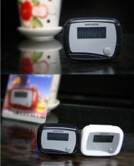 Dụng cụ đếm bước chân theo dõi sức khỏe mỗi ngày cho bạn pedometer (Đen)