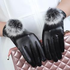 Găng tay da nữ-bao tay da nữ lót lông cảm ứng điện thoại cao cấp,thời trang-BTD01