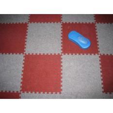 FREE SHIP ĐƠN 150KBịch 18 tấm thảm nỉ GHÉP trải sàn 30×30 cm