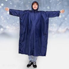 Áo mưa xẻ tà vải dù một đầu cao cấp