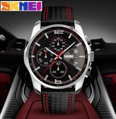 Đồng hồ thời trang dây da chống nước hàng hiệu cao cấp 9106