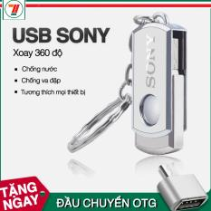 [Quà tặng] USB 32GB thương hiệu Sony kèm móc sắt tặng otg