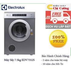 Máy sấy quần áo Electrolux EDV7552S-7.5kg(Ghi)