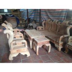 Bộ bàn ghế tần thủy hoàng tay 10 và tay 12 gỗ xà cừ