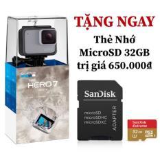 Máy Quay Phim GoPro Hero 7 White Tặng kèm Thẻ Nhớ MicroSD Extreme 32GB