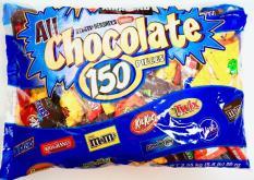 Kẹo Chocolate Hỗn Hợp 9 loại All Chocolate 150 Pieces – 2.55Kg – USA