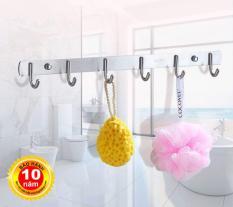 Móc treo phòng tắm (Loại 6 móc) SUS304 – Hàng Cao cấp ITALIA