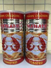 Snack tôm lon HANAMI 110g – Màu đỏ hương vị tôm truyền thống