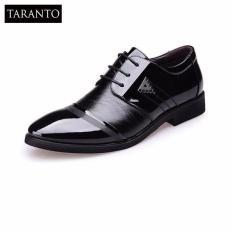 Giày tây da nam đế cao TARANTO TRT-GTN-01-DE (màu đen)