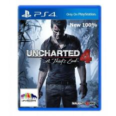 Đĩa game PS4: Uncharted 4: A Thief's End