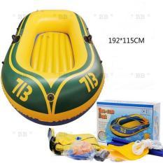 Thuyền phao Kayak 713 cho 2 người, thuyền bơm hơi đi câu cá gấp gọn tiện lợi, chất liệu cao cấp – BLINGBLING