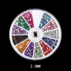 Đá nail đính móng 12 màu bền đẹp
