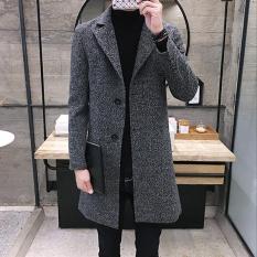 Áo khoác dạ nam lịch lãm thời trang Hàn quốc AB151