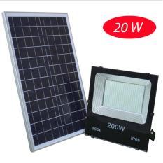 Đèn năng lượng mặt trời sân vườn LED VITI SMART 10 – 200W