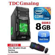 Máy tính game TDCGaming intel core i7 2600/ Ram 8gb/ Hdd 1000gb – Tặng phím chuột giả cơ chuyên game – Bảo hành 24 tháng 1 đôi 1.