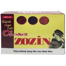 bánh gạo lứt mặn oshawa zozin
